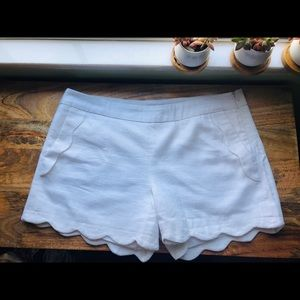 Scalloped shorts by Cynthia Rowley size 8